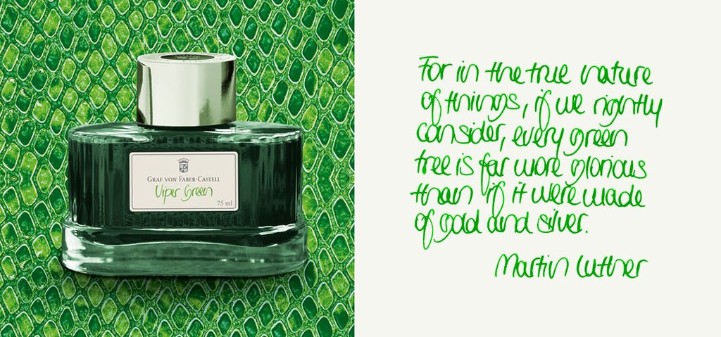 Faber Castell Ink Viper Green