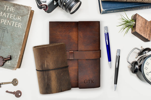 Leather Journal Gift for Grad