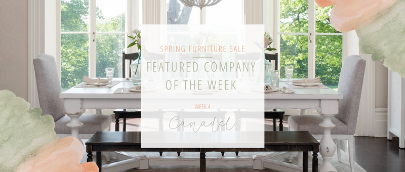 Week Four Furniture Sale Feature: Canadel