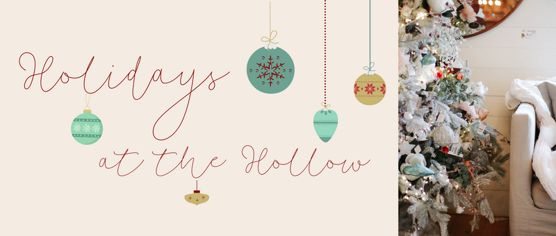 Holidays at the Hollow Starts This Friday!