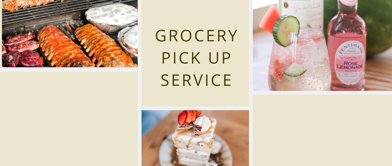 GROCERY PICK UP SERVICE