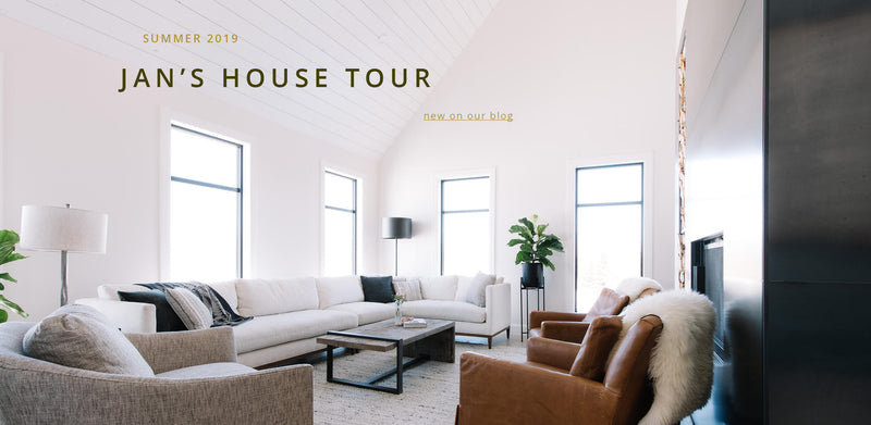 Sneak Peek - Jan's House Tour