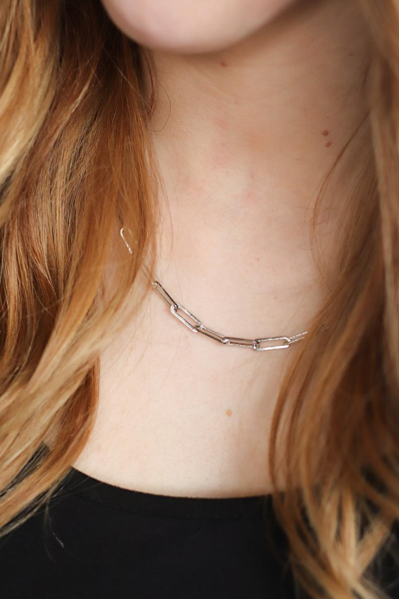 Kendall Paperclip Necklace