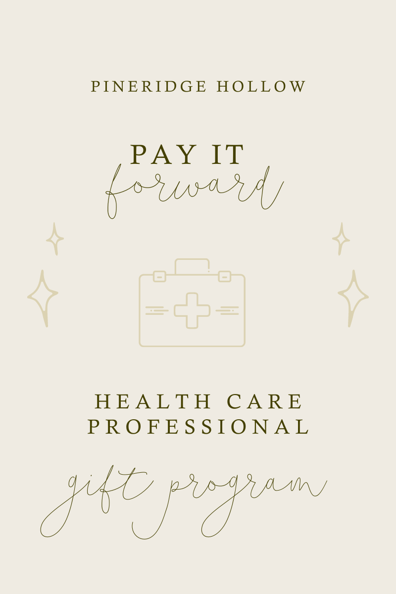 Pay It Forward Health Care Professional Gift Program
