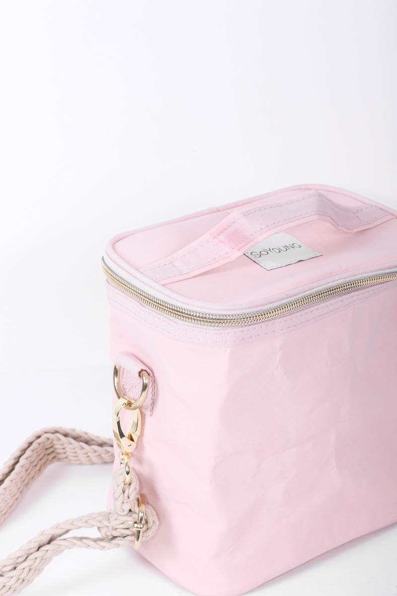 Blush Pink Petite Lunch Bag