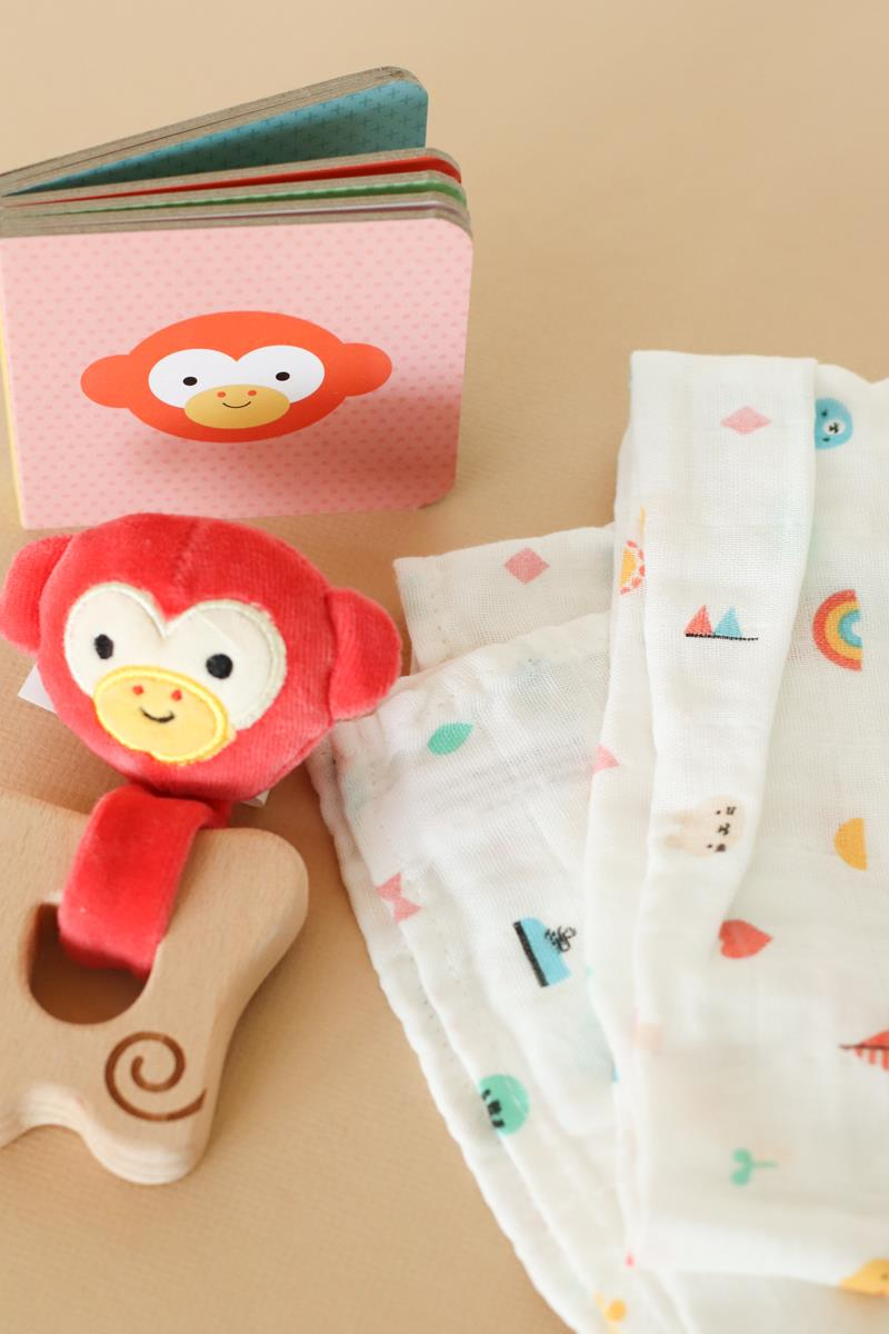 Little Monkey Gift Set