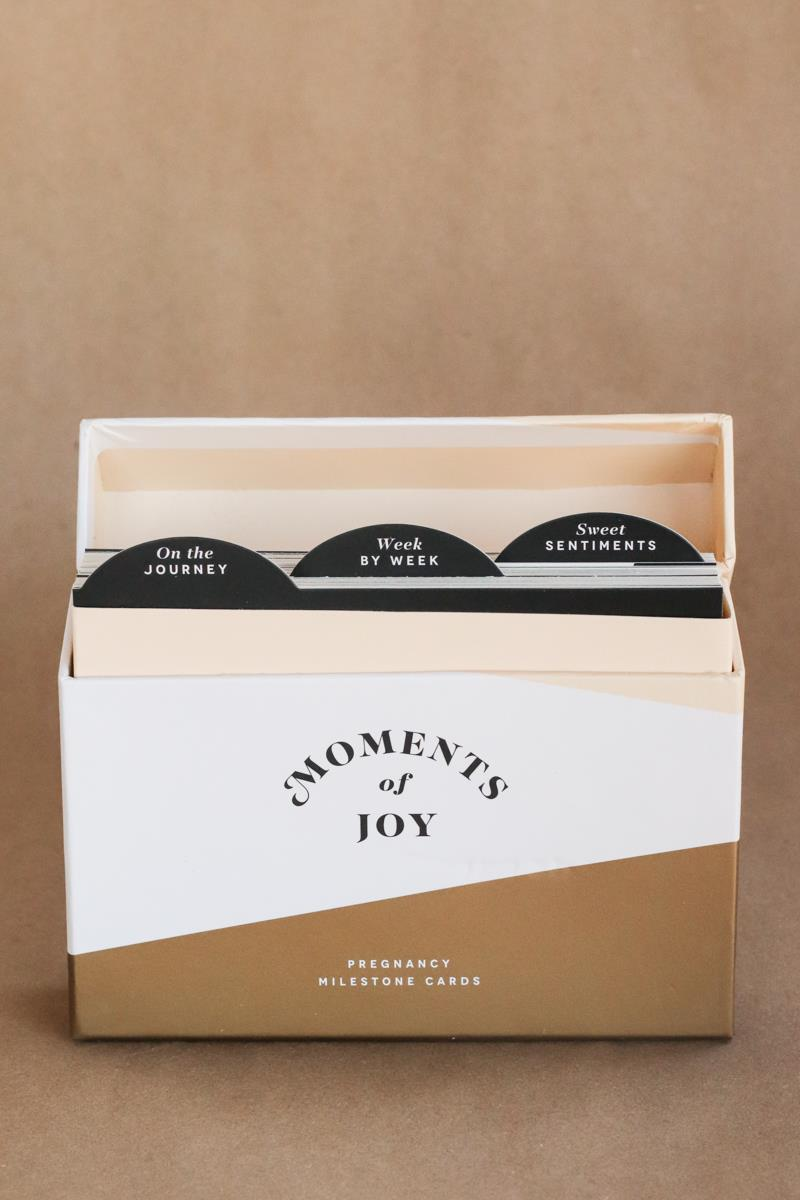 Moments of Joy Milestone Cards