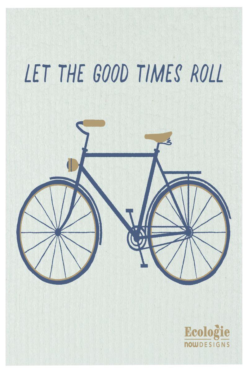 Good Times Roll Swedish Dishcloth