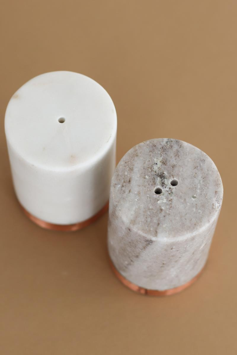 Marble Salt & Pepper