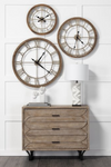Mething Light Brown Clock Small