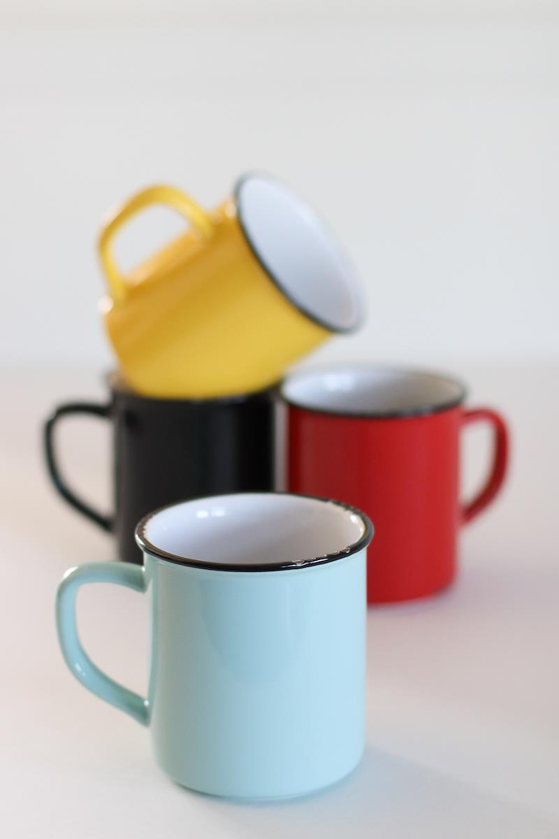 Enamel Look-a-Like Mug