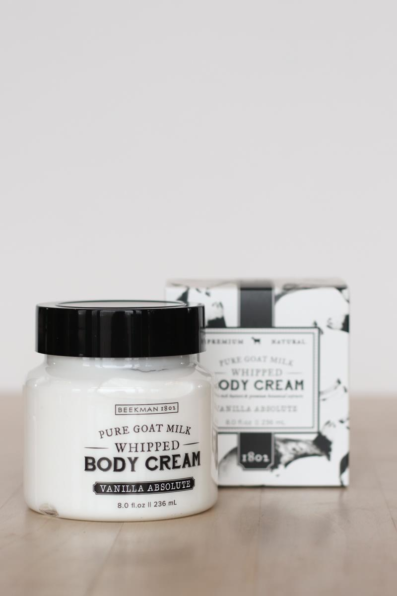 Whipped Vanilla Body Cream