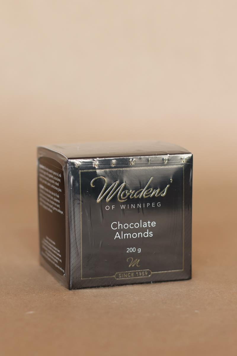 200 Gram Chocolate Almonds