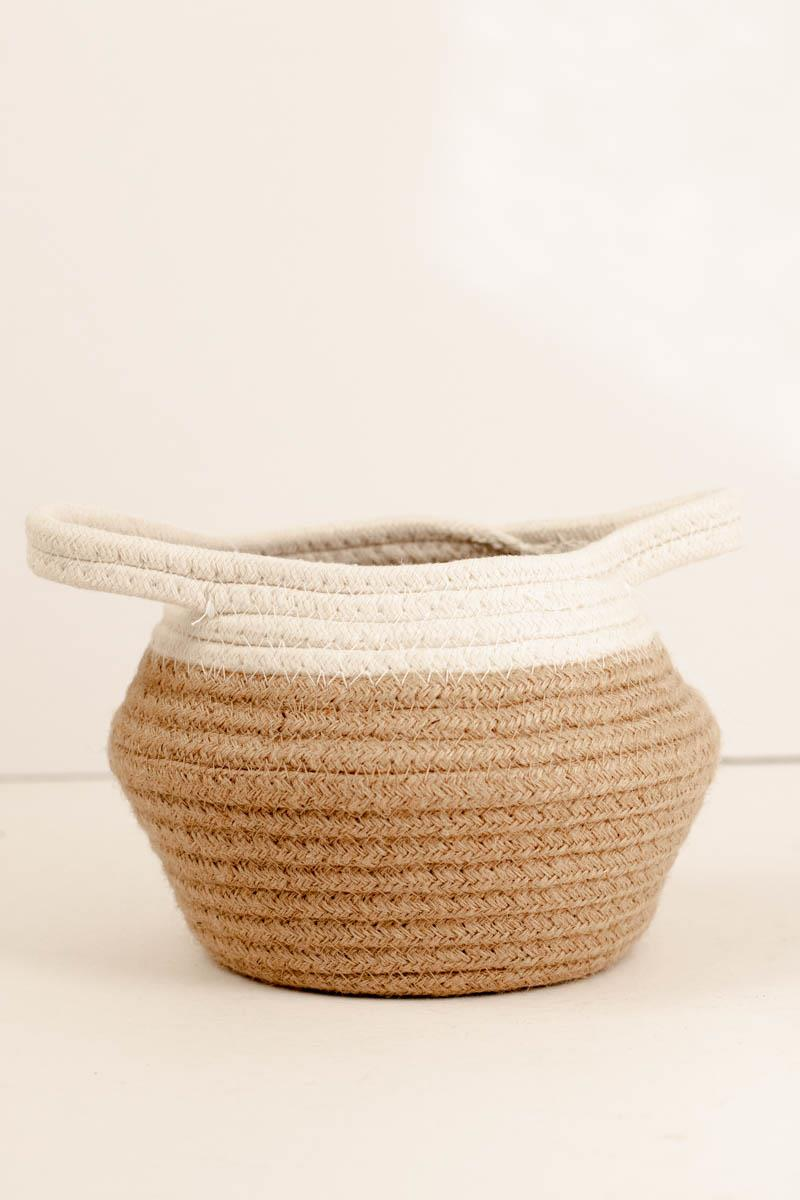X-Small Jute Basket