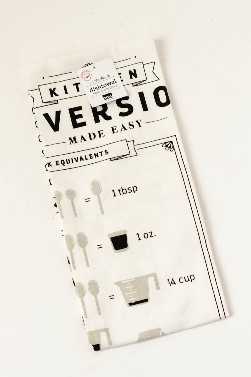 Conversion Chart Tea Towel