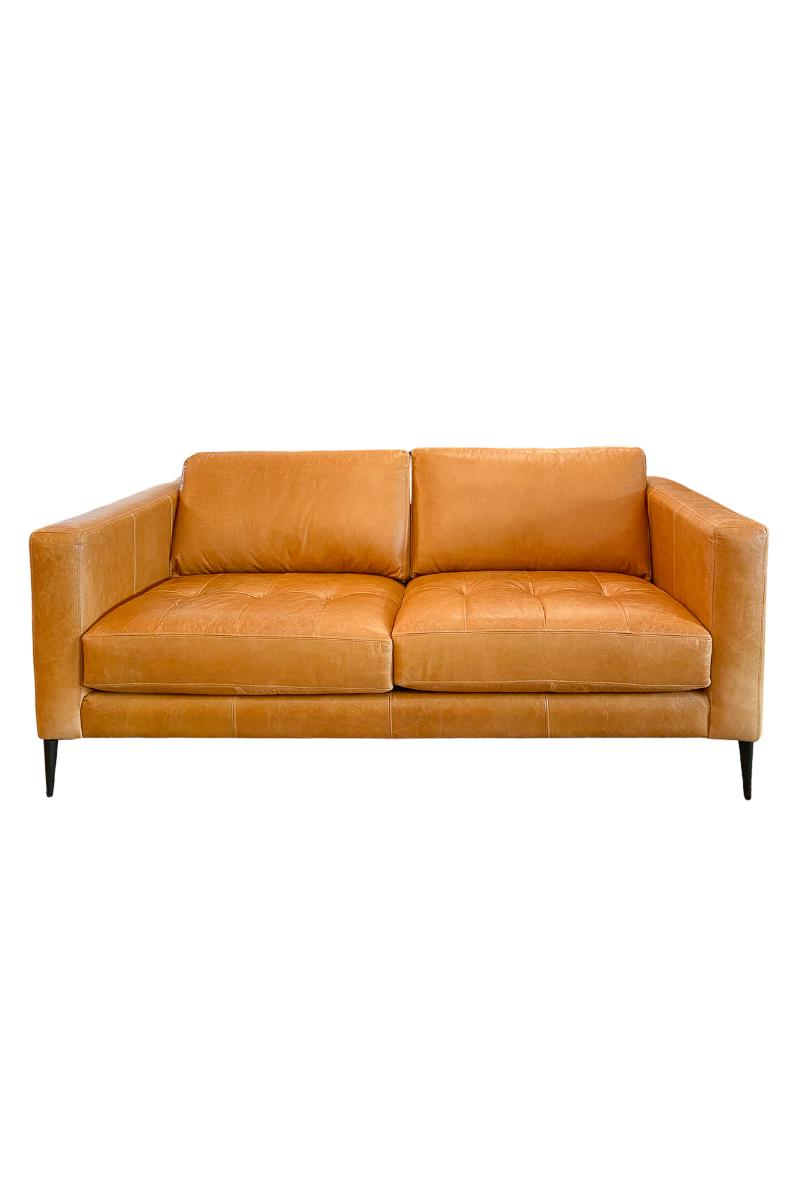 Leather Condo Sofa