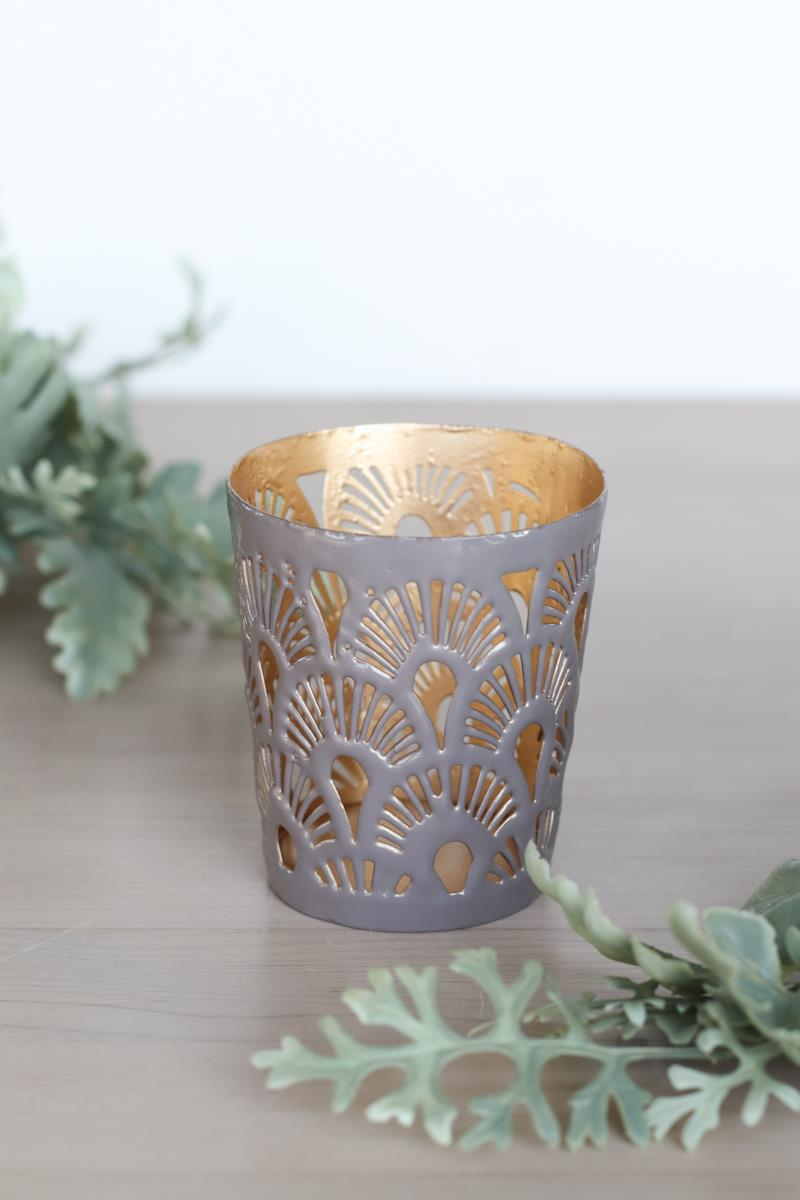 Plume Lilac Candleholder