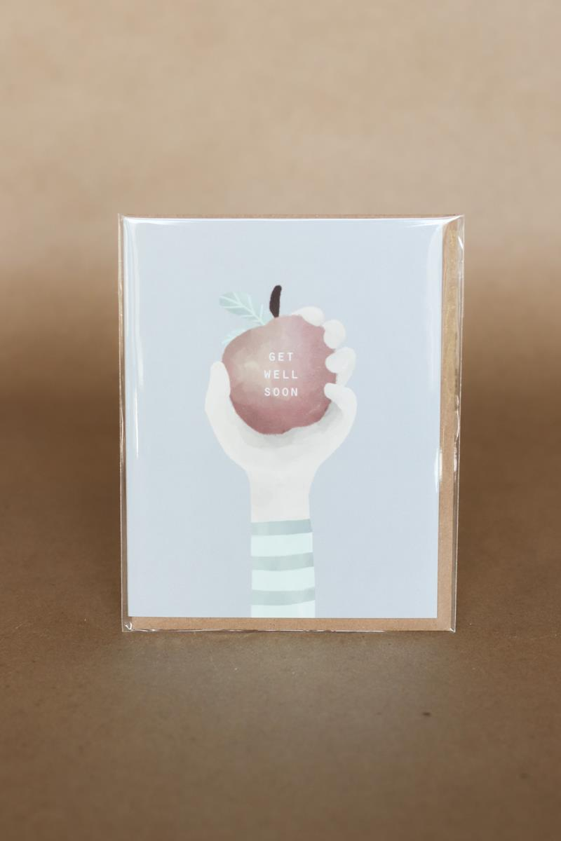 An Apple A Day Card