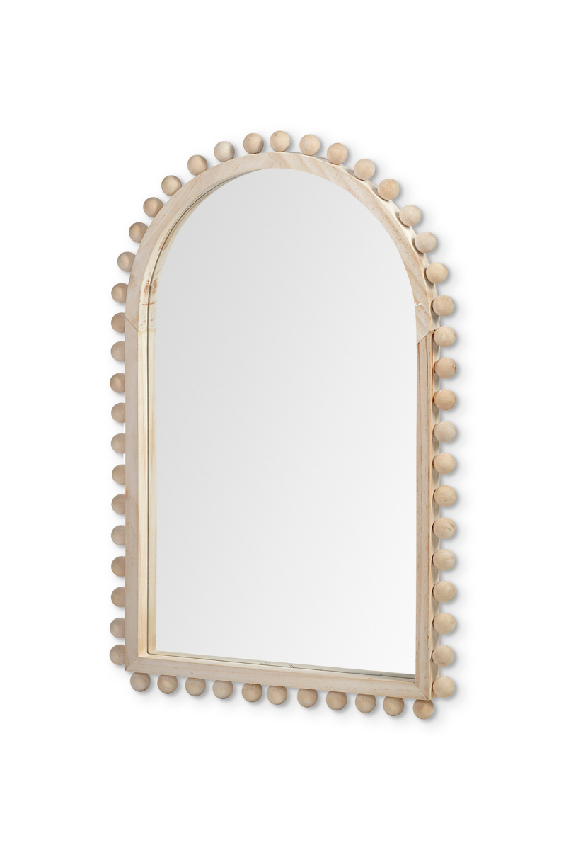 Leeds Natural Wood Mirror