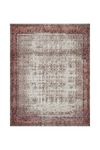 Layla Collection -  Ivory / Brick Rug