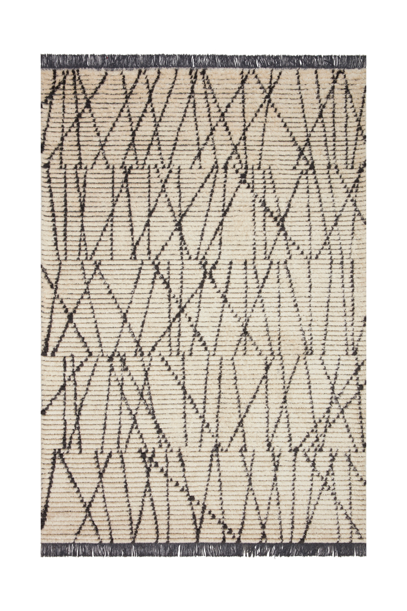 Alice Collection - Cream / Charcoal Rug