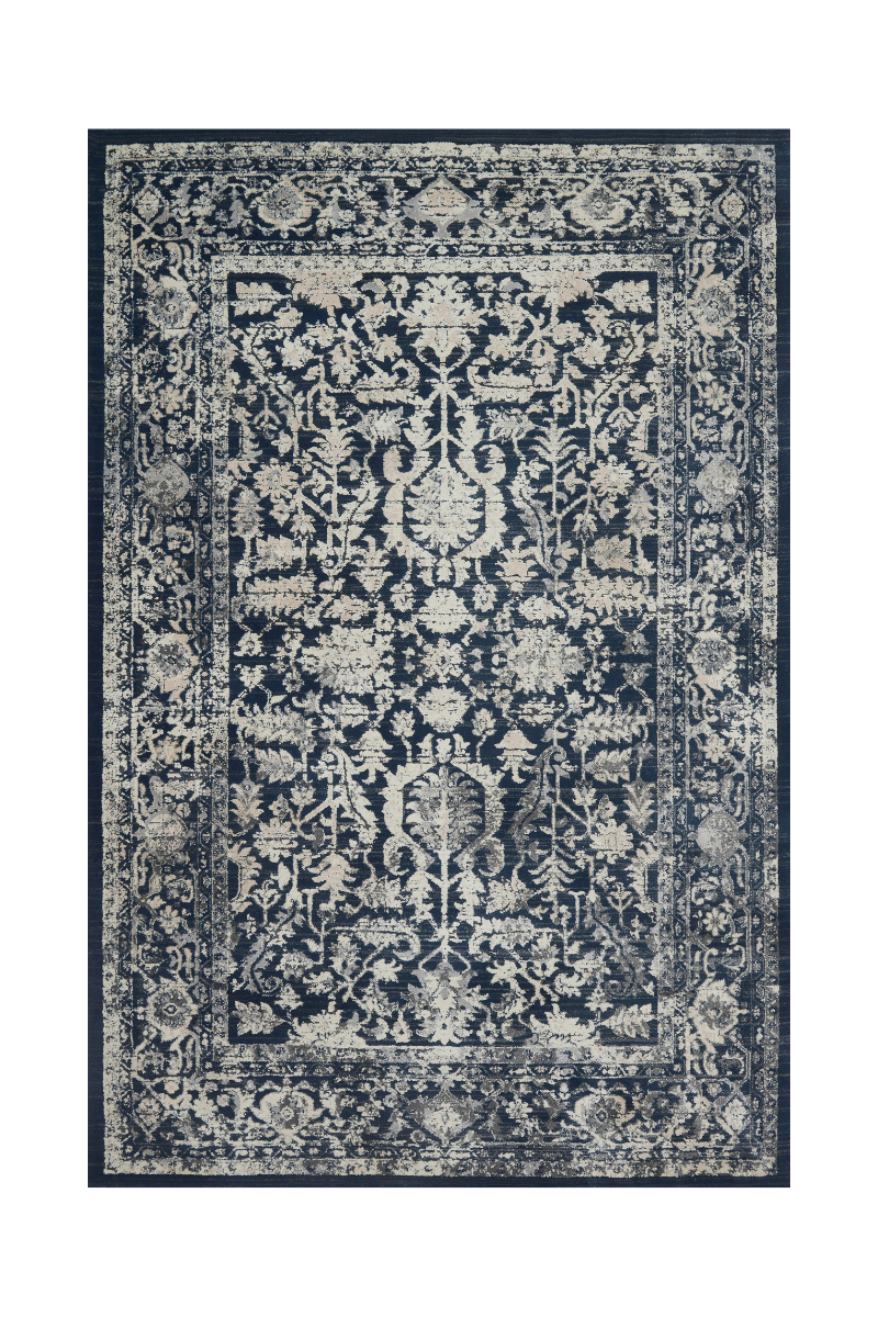 Everly Collection - Indigo / Indigo Rug