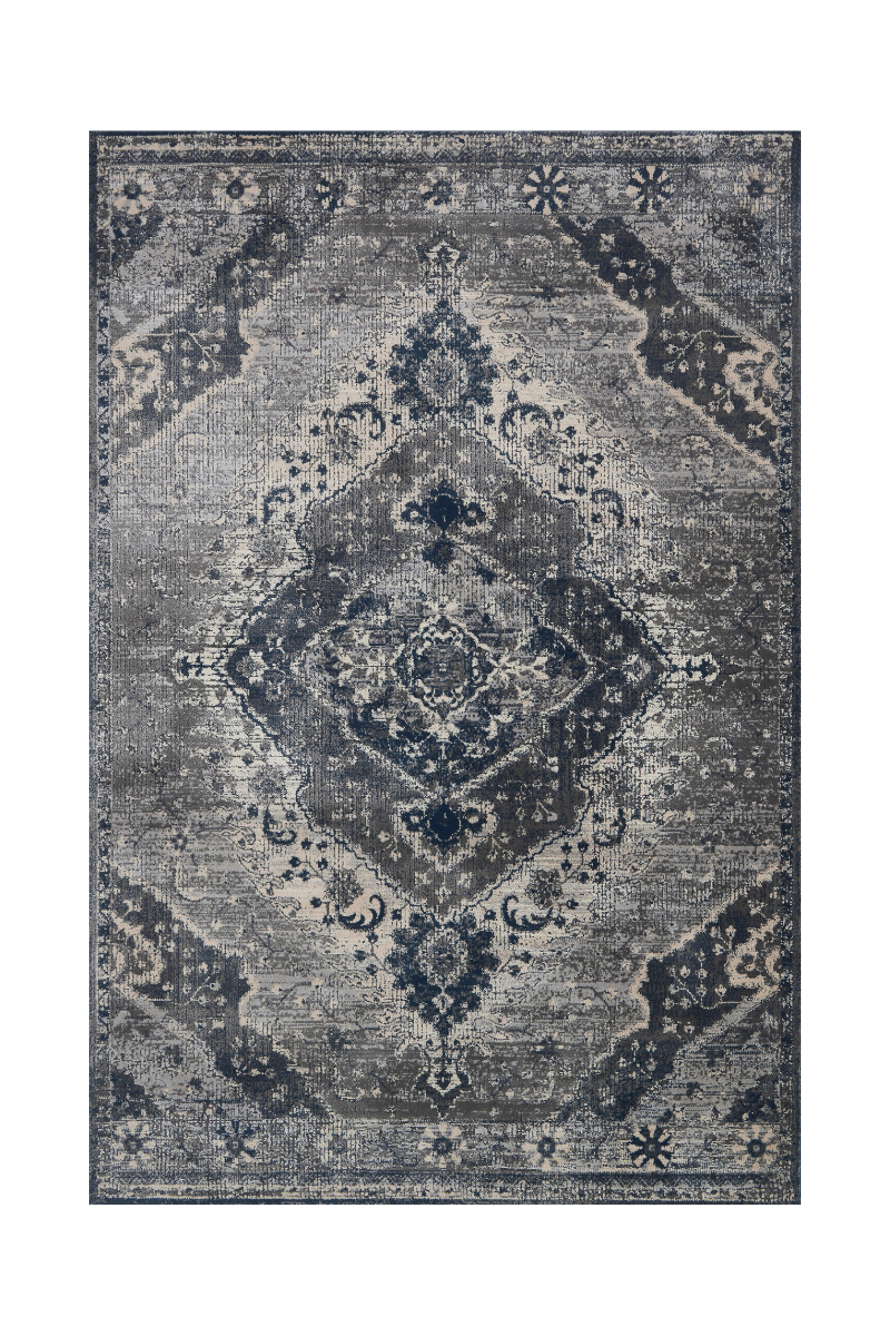 Everly Collection - Silvery / Grey Rug