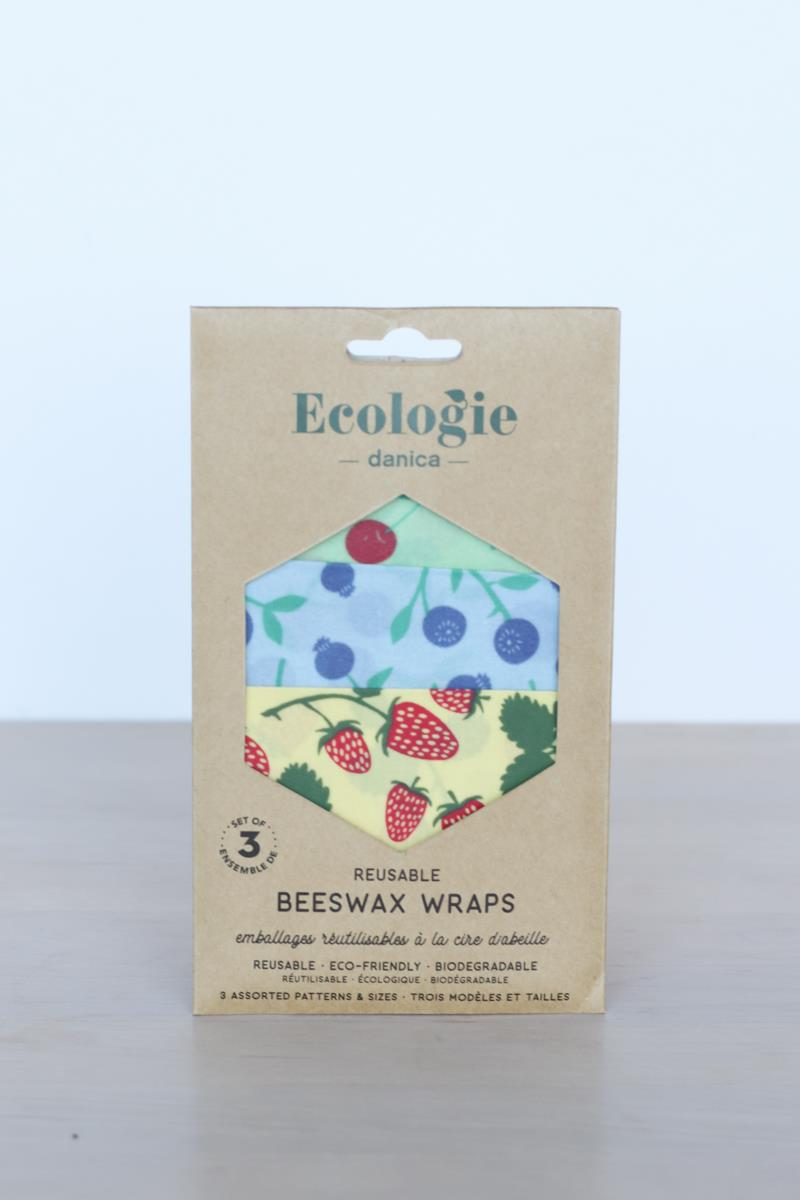 Berries & Fruit Beeswax Wraps