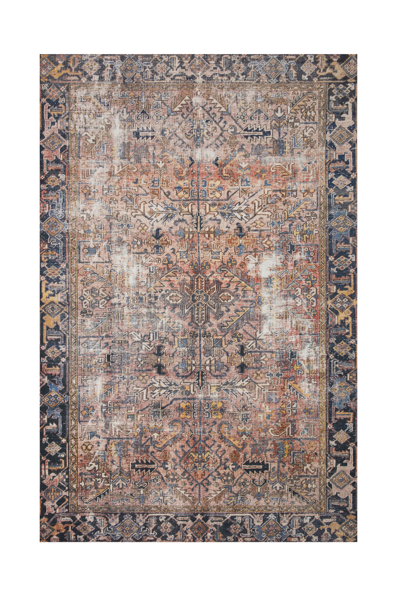 Jules Collection- Terracotta/Multi Rugs