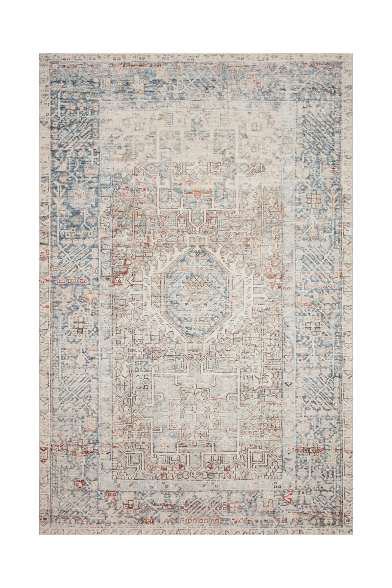 Jules Collection- Natural/Ocean Rugs