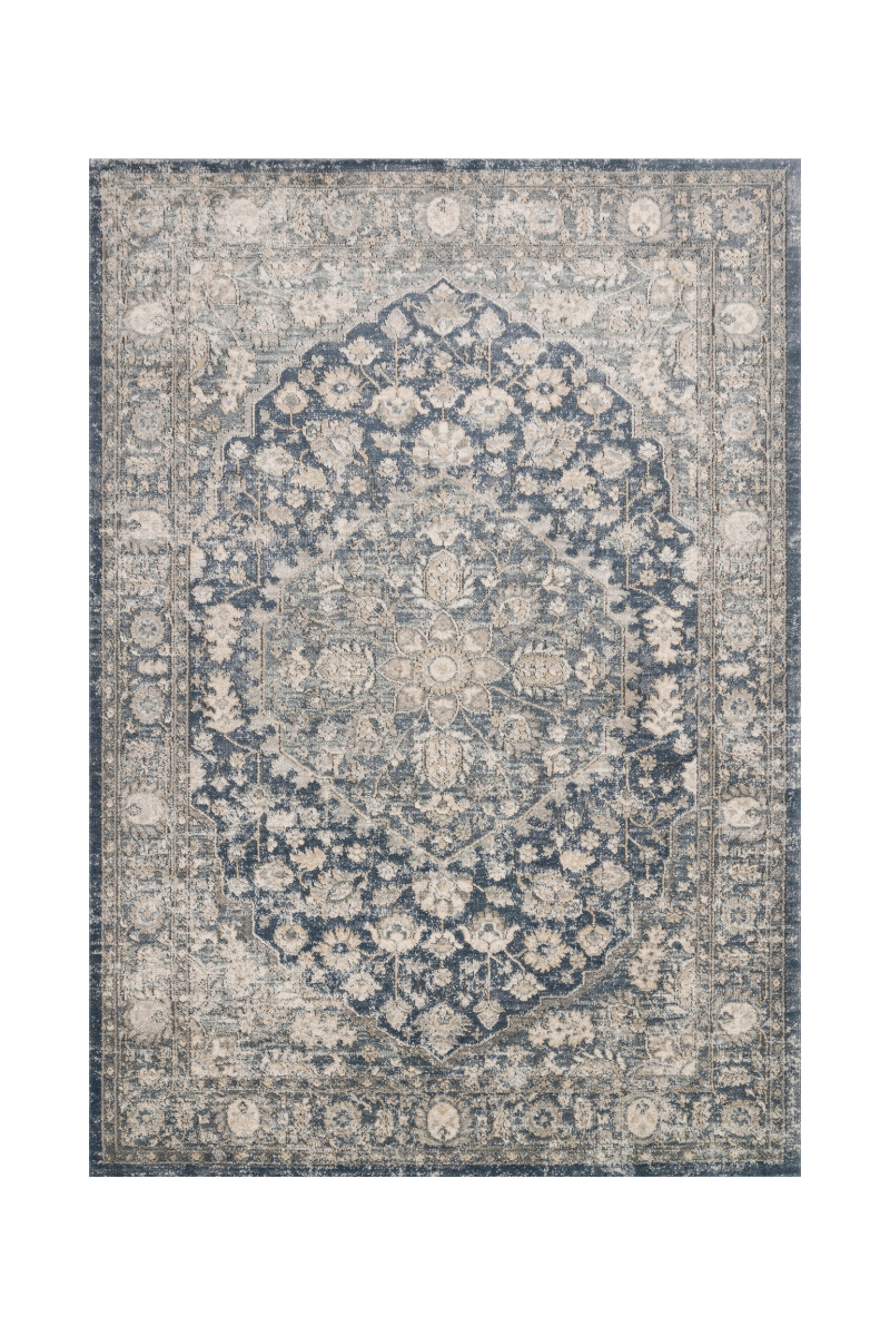 Teagan Collection - Denim / Mist Rugs