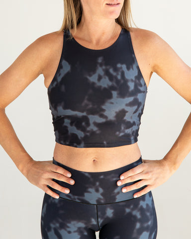 Image of Black Fog Crop Top