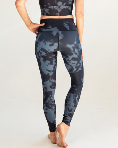 Image of Black Fog Yoga Pants