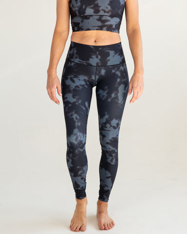 Black Fog Yoga Pants