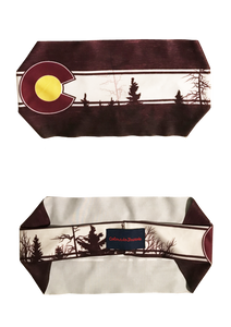 Burgundy Native Headband