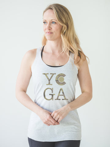 Camo CO Yoga Tank *FINAL SALE*