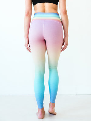 Rainbow Ombre Yoga Pants