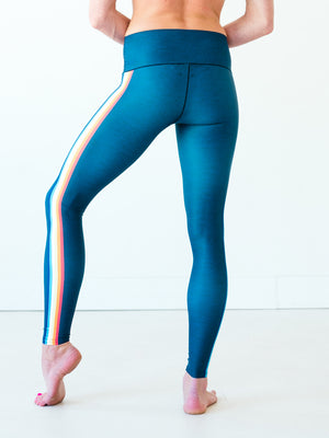 Rainbow Stripe Yoga Pants *FINAL SALE*