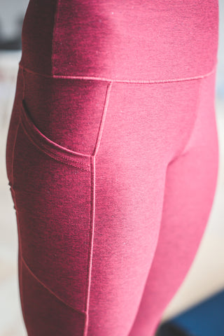 Image of Wine Wander Pocket Yoga Pants