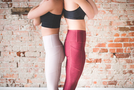 Wine Wander Pocket Yoga Pants