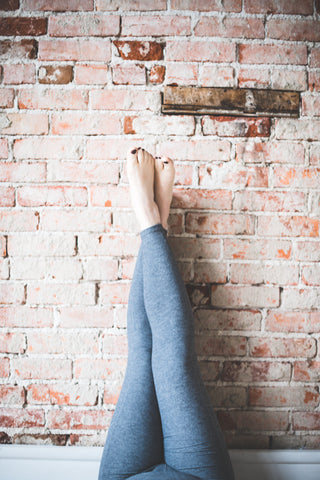 Image of Slate Wander Pocket Yoga Pants *FINAL SALE*