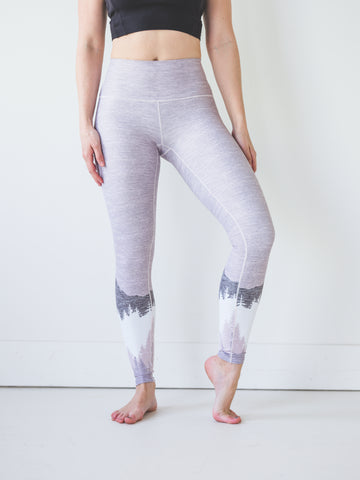Image of Blush Mountain Yoga Pants *FINAL SALE*