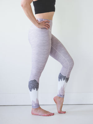 Blush Mountain Yoga Pants