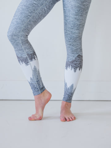 Ash Grey Mountain Yoga Pants *FINAL SALE*