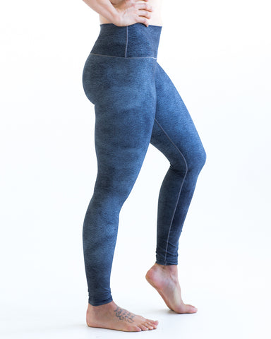 Grey Grit Yoga Pants