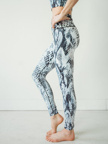 Image of Snakeskin Yoga Pants