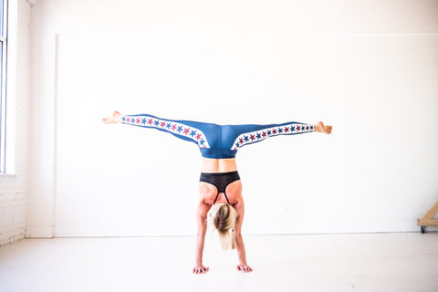 Red, White & Blue Yoga Pants *FINAL SALE*