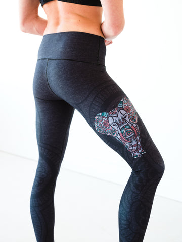 Image of Elephant Yoga Pants