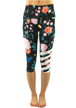 Floral Dreams Capris   *FINAL SALE*