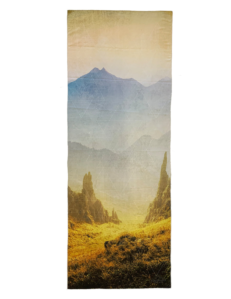 Golden Hour Yoga Mat Towel